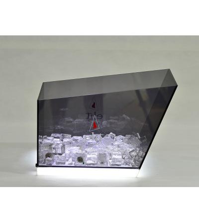 Supply Acrylic transparent LED ice bucket luminous ice bucket