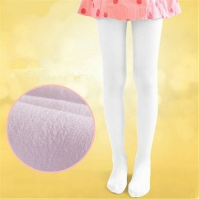 Children's clothing socks autumn winter children add pile thickening 8 ballet tights leggings dance socks