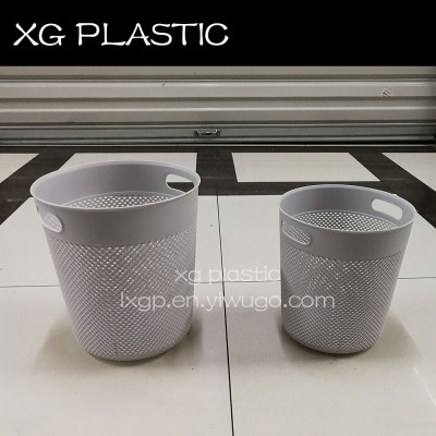 Garbage can hollow new design office kitchen bathroom garbage bin household trash can XG134 dustbin