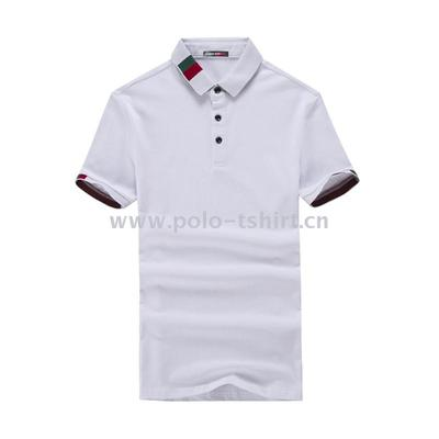 Summer New Men'S Short-Sleeved T-Shirt Men Youth Slim Polo Shirt Knitted Garment Manufacturers