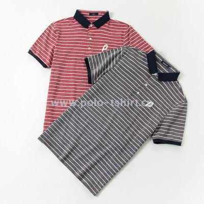 2018 Summer Men'SPolo Shirt Korean Striped Short-Sleeved T-Shirt Male