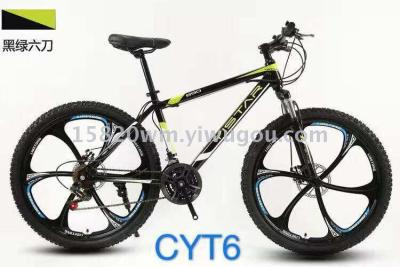 MIKEE bicycle mountain bike hot style integrated wheel tianjin delivery factory OPP packaging foreign trade