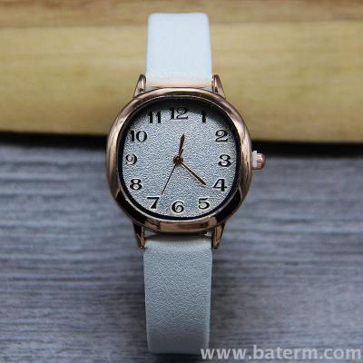 New fashion hot sale college wind small fresh square digital belt watch for women students watch