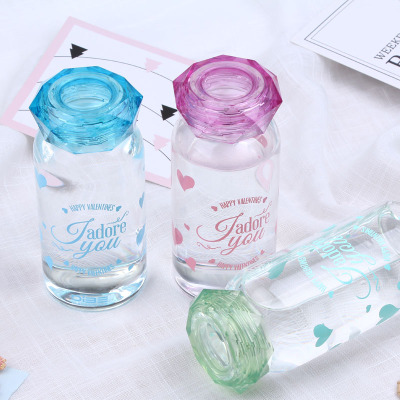South Korea creative water diamond water cup single layer insulation birthday gifts super cute small fresh fashion