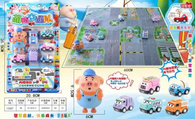 New shake sound type seagrass pig traffic command fun play every child educational enlightenment toys street toys