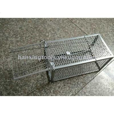 Silver large rat cage trap rat trap