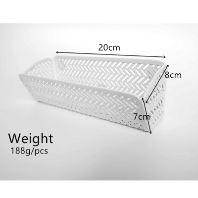Iron mesh multifunctional magnetic hanging box storage supplies