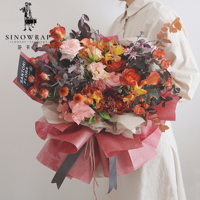 Supply China Suppliers Non Woven Flower Wrapping Paper For Flowers