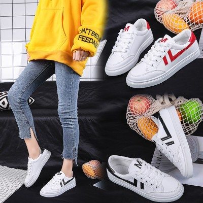 Ladies' small white shoes fashion casual shoes students breathable sports casual shoes manufacturers direct sales