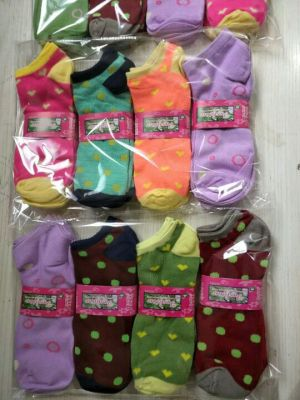 Ladies stockings foreign trade stockings cheap polka dot ladies stockings striped socks cotton stockings floor  stock