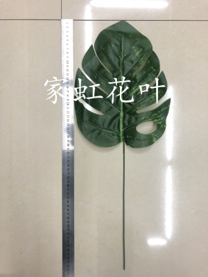 Silk screen back leaf old turtle cover leaf arrangement accessories simulation leaves leaves leaves plant leaves