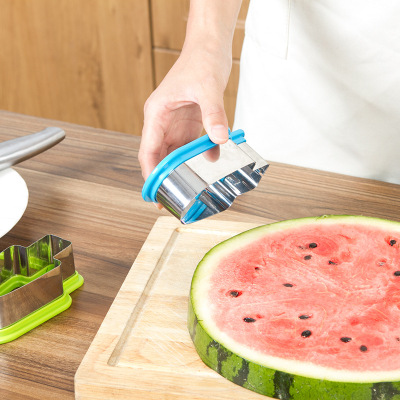 Creative simple watermelon slicer Popsicle mould watermelon slice model watermelon cutter