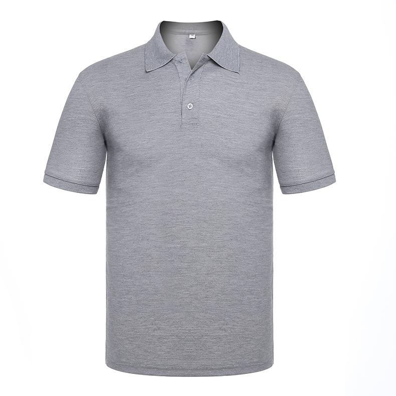 Supply Work Clothes Polo Shirt Custom T Shirt Cotton Lapel Shirt Enterprise Clothing Design Logo Printing