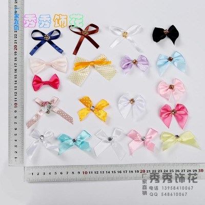 British retro college lady bow accessories small bow pin collar department general accessories