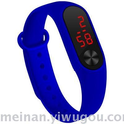 Hot style LED candy color millet ii sports bracelet electronic watch
