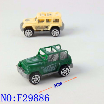 New market stalls foreign trade children toys wholesale huili car real color printing F29886