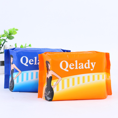 Qelay Ultra Slim Classic Sanitary Napkins Cotton Sanitary Pads for Women
