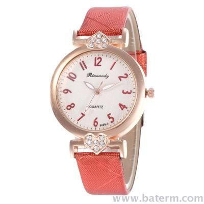 Fashion hot shot move diamond studded digital belt ladies Fashion watch students watch