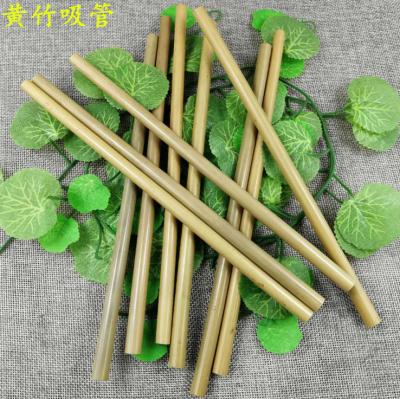 Supply Green bamboo straw portable environmental straw-