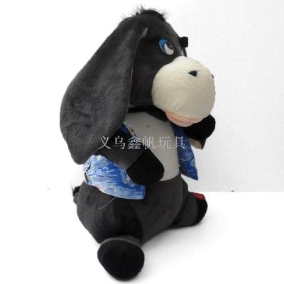 Manufacturer of electric toy move ear donkey ears singing and dancing toys