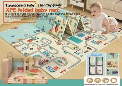 Easy and convenient folding mat climbing mat baby mat