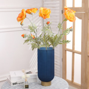 The simulation plant poppy hotel table decoration false flower spring artificial poppy simulation poppies wholesale
