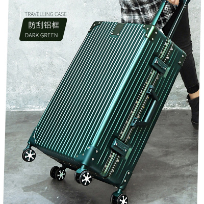 Net red tide kyle male small suitcase pull rod suitcase female kyle wanxiang wheel cipher box 20 inches 807
