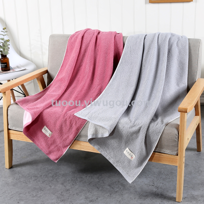 Tuo Ou Textile pure cotton super soft combed cotton perfect soft quality bath towel 80 * 160 cm, love yourself, love your home