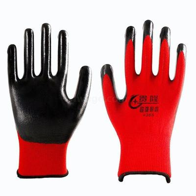 And Gloves will be protected against work or non-slip plastic rubber industry with rubber Gloves
