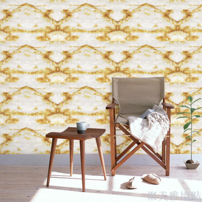 New 3D wall with marble brick pattern Foam and self-adhesive wall sewing machine Direct sale