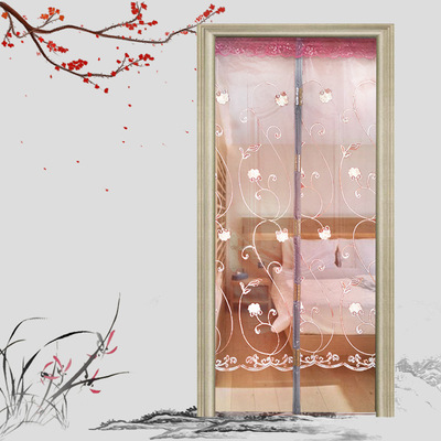 Mosquito proof fly proof door curtain summer household mute cartoon encryption self-suction magnetic flexible screen door manufacturers wholesale