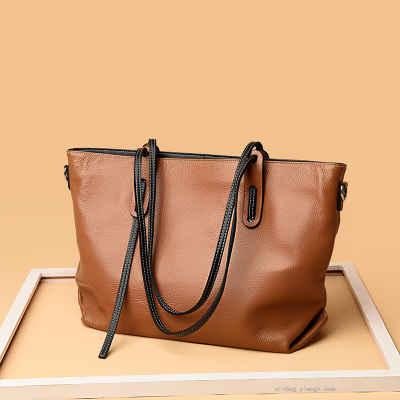 tuo te bao Female Large Capacity Shoulder Bag Women's Leather Bags Header Level Cowhide Women's Handbag 2017