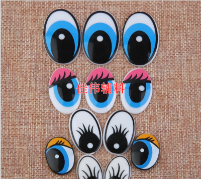 Plush Toy Eyes Nose Accessories Toy Accessories Cartoon Eyes Threaded Cartoon Eyes Factory Direct Sales