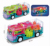 Toy Car for Kids with Flashing LED and Magnetic Gear - Colorful Light and Charming Music Sports Car