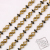 Two-Tone DIY Decoration Accessory Chain Bracelet Necklace Scatter Chain Bags Shoes and Hats Decorative Chain Accessories Factory Direct Sales