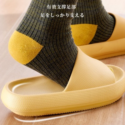 Internet Celebrity Non-Slip Bathroom Slippers Women's Summer Home Indoor Mute Couple Bathing Eva Platform Men's Sandals