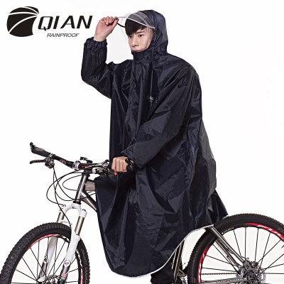 Poncho Bicycle Raincoat Adult Riding Portable Electric Motorcycle in Stock Wholesale Cross-Border Supply Sleeved Rain Cape